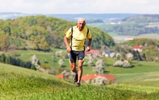 Older XC runner