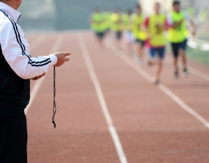 Interval Training on the track